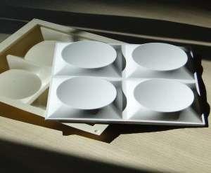 В гипсовых 3D панелях мы предлагаем на выбор такие формы: