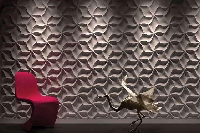 3D панели из гипса или бетона своими руками