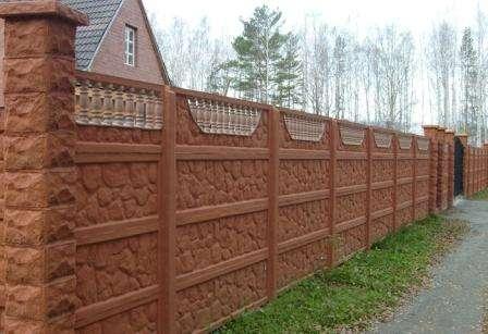 окраска бетонных секций