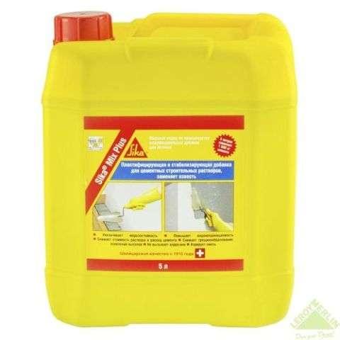 Разная концентрация пластификатора позволяет регулировать время схватывания раствора.