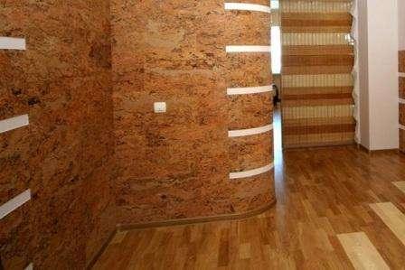 Пробковые стеновые панели для внутренней отделки