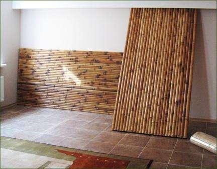 Преимущества стеновых бамбуковых панелей
