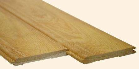 Вагонка штиль из разных пород дерева: кедр, лиственница