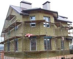 как утеплить дом минеральной ватой снаружи