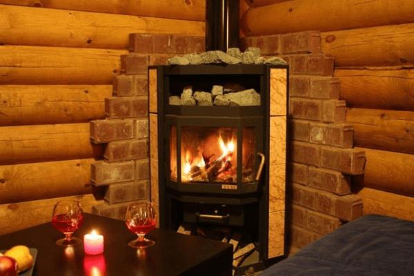 печь камин для дома на дровах длительного горения