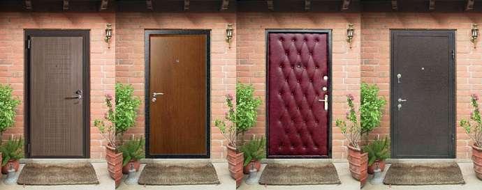 как выбрать входную дверь в частный дом