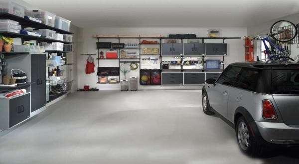 обустройство гаража внутри своими руками фото
