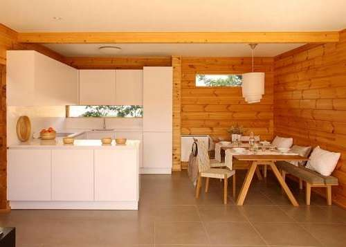 отделка деревянного дома внутри фото