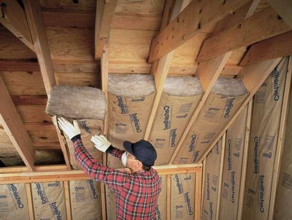 Минеральная вата – это самый популярный материал для утепления крыши