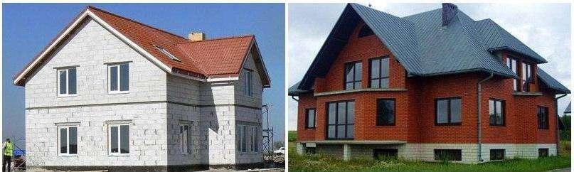 Из чего построить дом недорого и качественно: виды строительных блоков