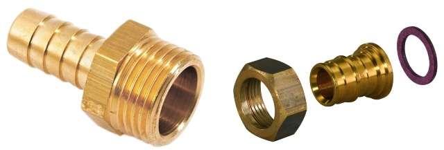 Резьбовые штуцеры для металлических труб
