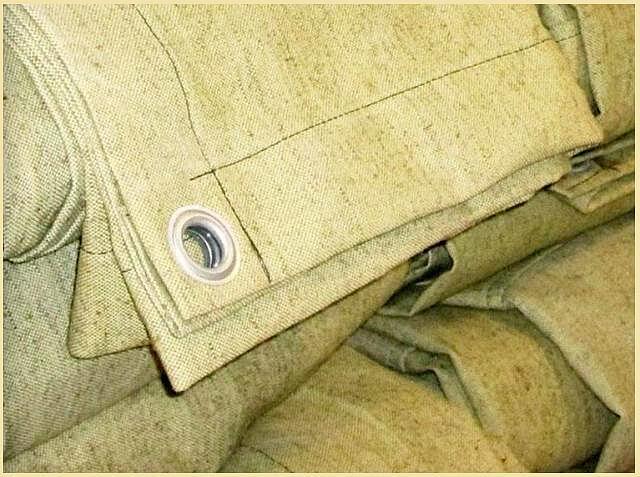 Брезентовая ткань. Где используется материал