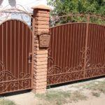 Покупаем ворота для дачи