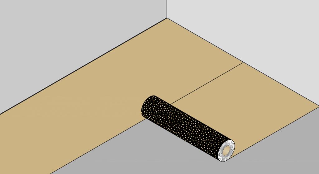 как правильно уложить линолеум на деревянный пол