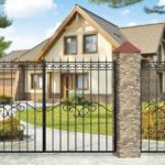 Советы по выбору ворот для частного дома