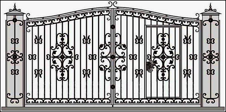 автоматика открывания ворот распашных