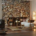 Идеи использования натурального камня в интерьере