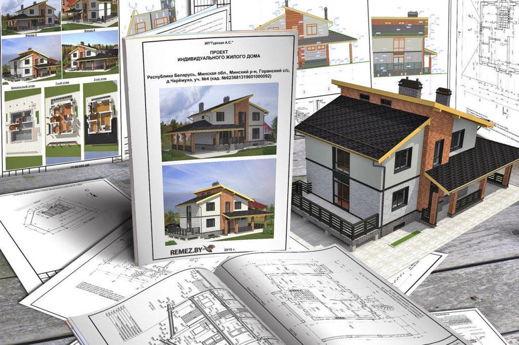 Профессиональная разработка проекта дома и дизайна его оформления