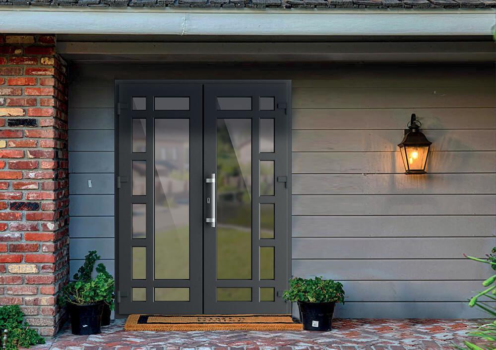 Преимущества металлопластиковых дверей