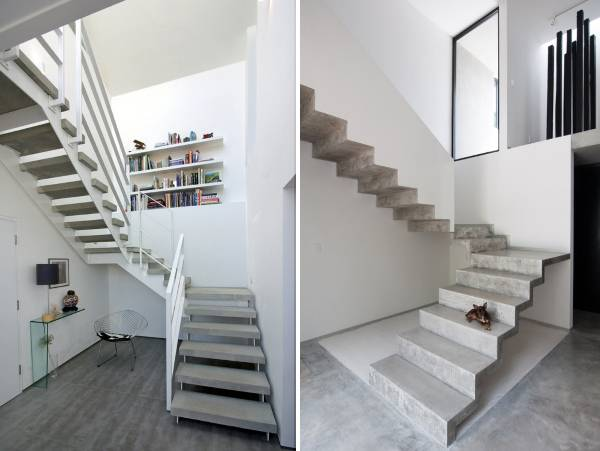 Бетонные лестницы – практичность, надежность и привлекательность
