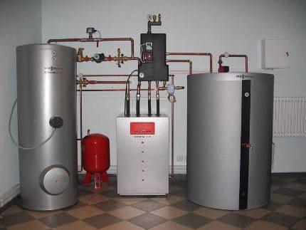 Преимущества газового котла