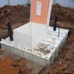 Технология монтажа пластикового погреба