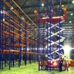 Технология сборки складских стеллажей