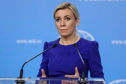 Захарова назвала больным вновь оскорбившего Путина грузинского журналиста