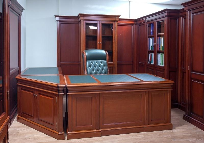 ТДМ Миллениум: производство мебели из массива и шпона для кабинета руководителя