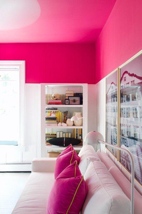 7причин изменить цвет потолка