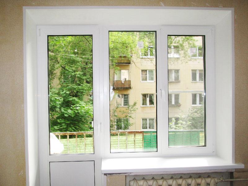 Установка балконного блока под ключ