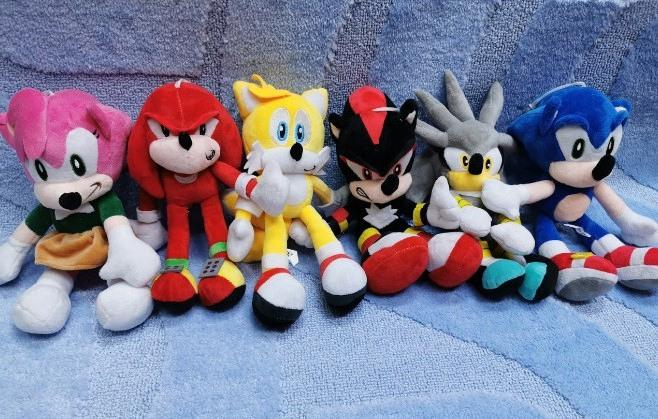 Мягкие игрушки Соник