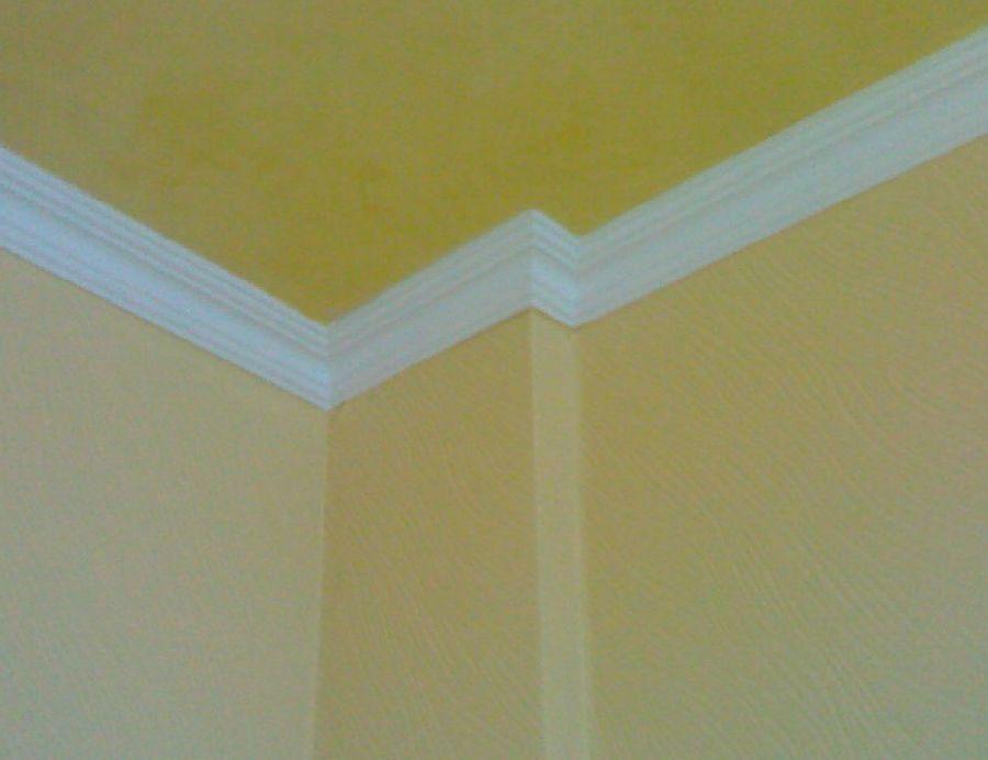 Багеты для потолка. Оформление потолков.