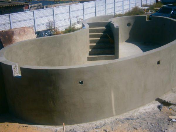 Бетонирование бассейнов и других погружных конструкций