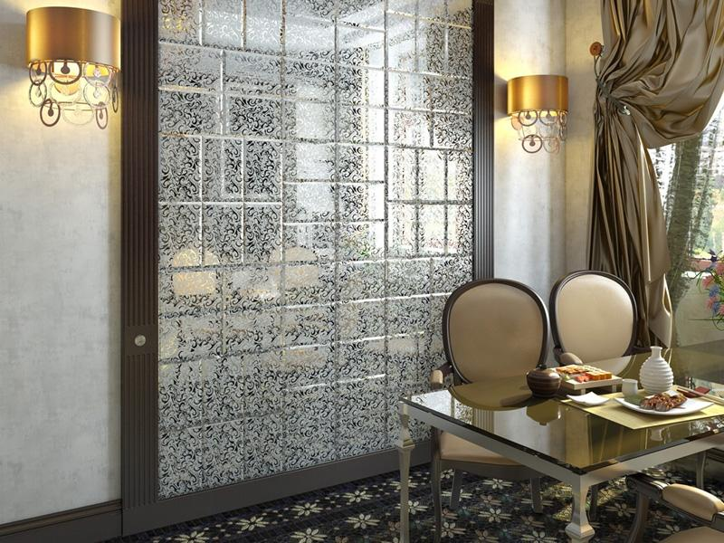 Керамическая плитка в дизайне маленькой ванной