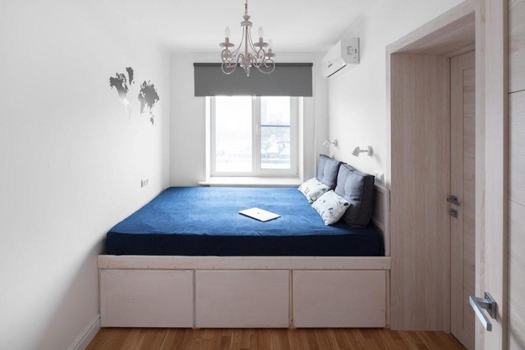 Дизайн-проект квартиры площадью 45 квадртных метров на Тимирязевской