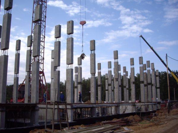 Основа бетонной многоэтажки