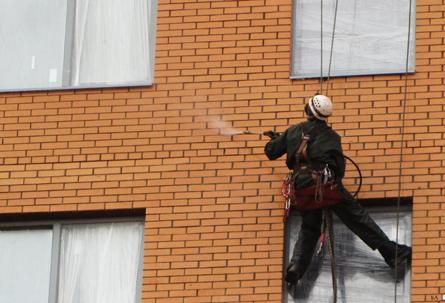 Гидрофобизация фасадов: пару слов об особенностях