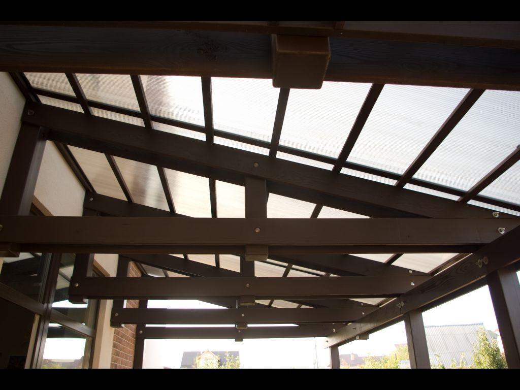 Строим крышу из поликарбоната