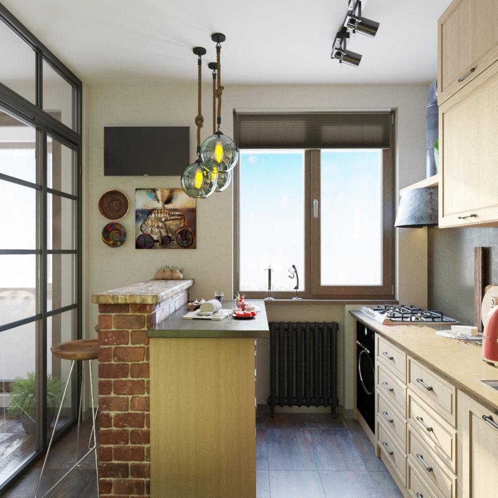 Как грамотно зонировать квартиру-студию