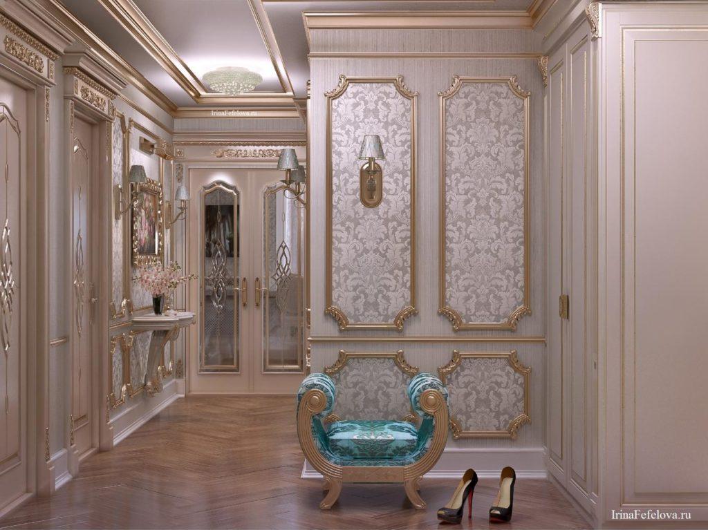 Как создать современный интерьер встиле барокко