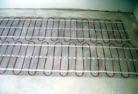 Как укладывать электрический теплый пол