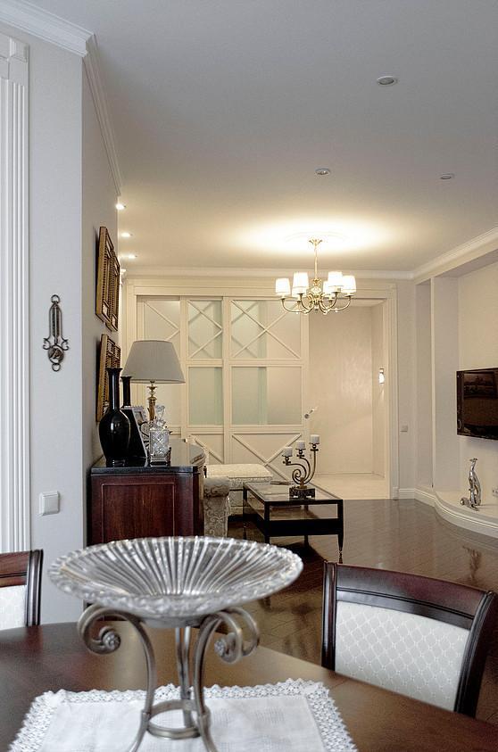 Классический дизайн квартиры в ЖК Континенталь