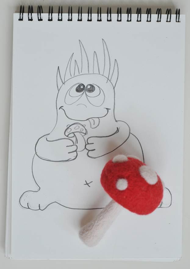 Мастер класс для начинающих: техника сухого валяния игрушек из шерсти - фото