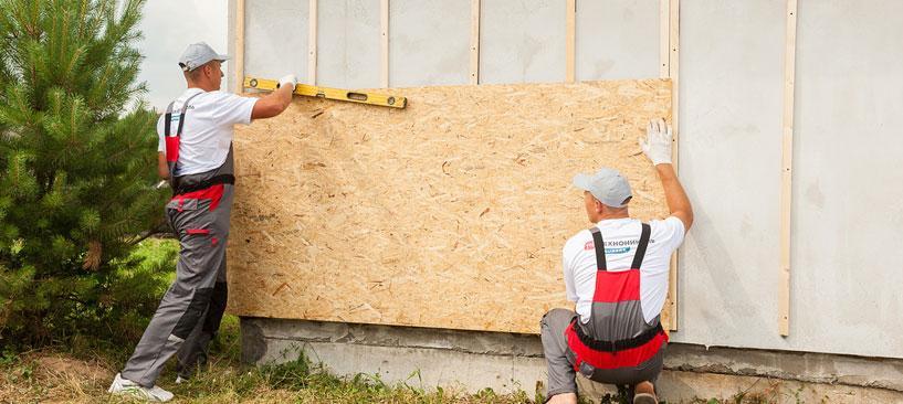 Пошаговая инструкция монтажа фасадной битумной плитки
