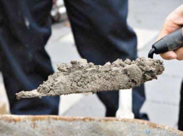 Применение напрягающего цемента. Расход цемента на приготовление раствора или бетона