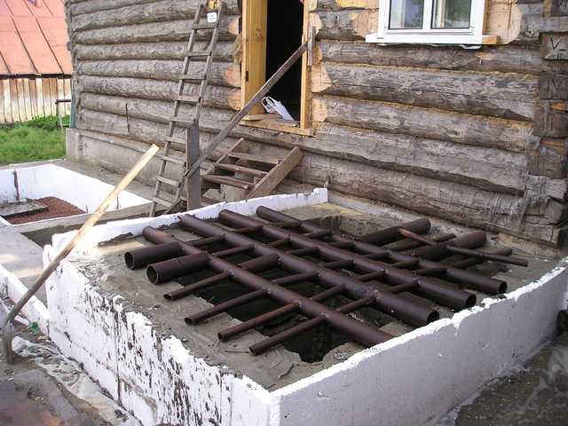 Применение бетонных стяжек в частном строительстве