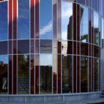 Алюминиевые витражи в архитектуре