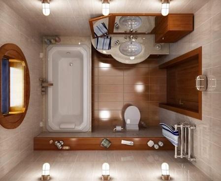 Стоит ли совмещать ванную с туалетом