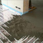 Особенности монтажа бетонной стяжки для водяного теплого пола